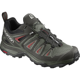 Salomon X Ultra 3 Schoenen Dames, shadow/castor gray/mineral red